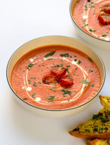 Tomato & Red Pepper Soup