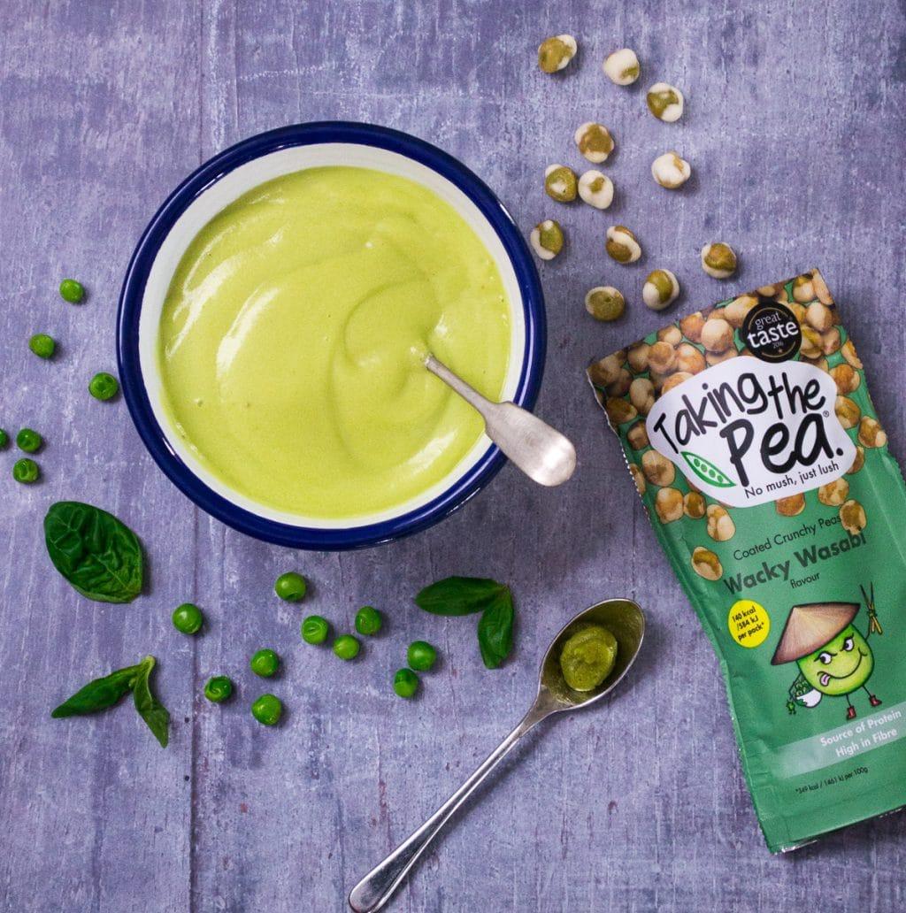 Pea & Wasabi Vegan Mayo