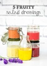 Recipe: 5 Fruity Vegan Salad Dressings