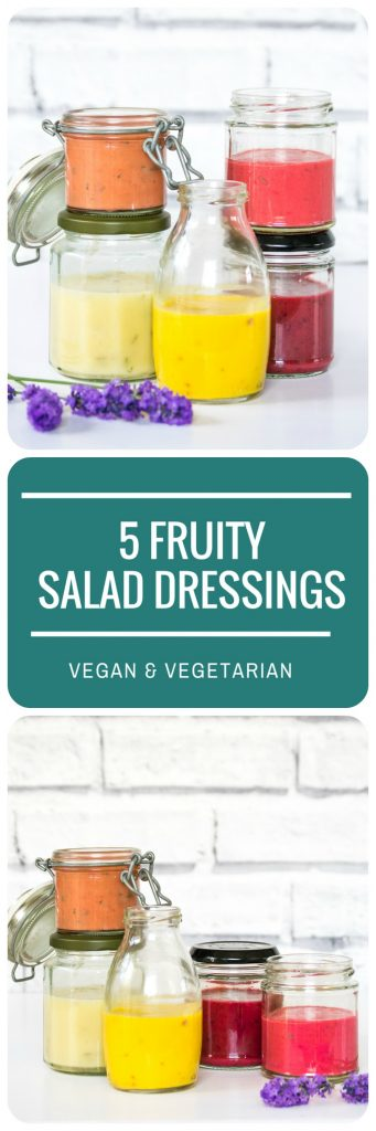 5 Fruity Salad Dressings