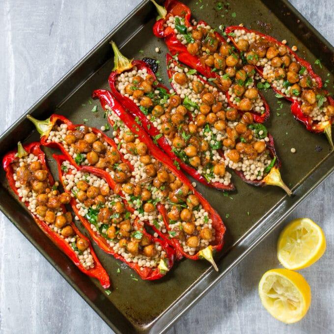 Romano Peppers Recipe