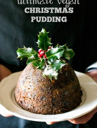 Ultimate Vegan Christmas Pudding