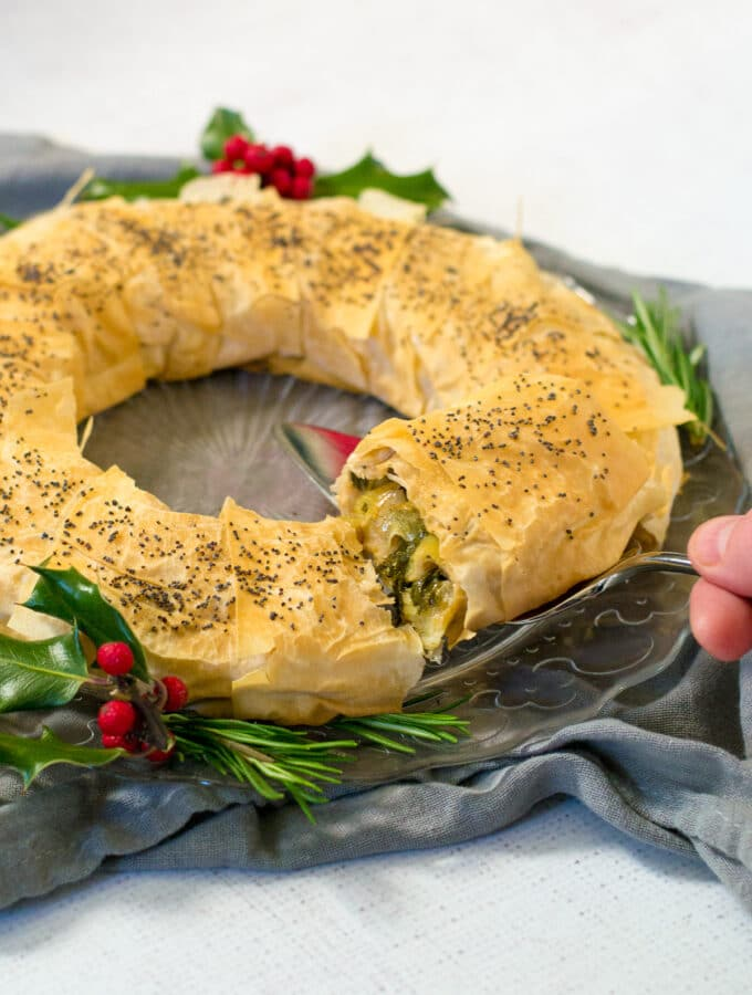 Vegan Christmas Filo