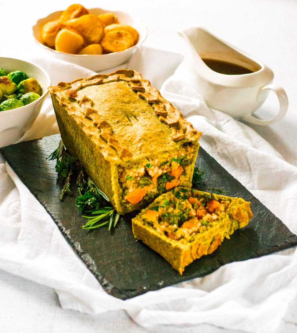 Kale Christmas Pie | #Vegan
