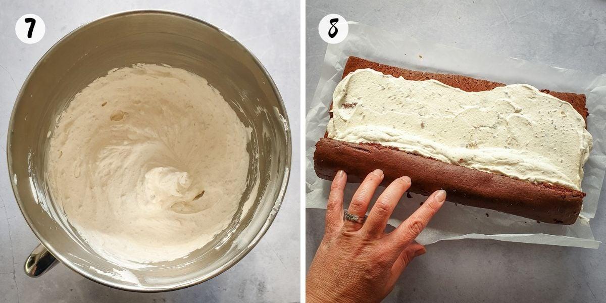 whip chestnut cream for filling