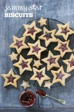 Recipe: Jammy Star Biscuits (Vegan)