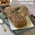Ultimate #Vegan Chocolate Yule Log
