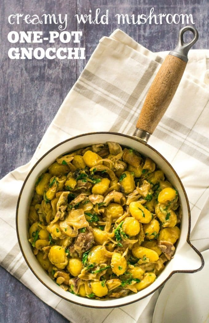 Creamy Vegan One-Pot Gnocchi