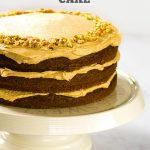 Ultimate Vegan Coffee & Walnut Cake