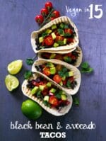Recipe: Avocado & Black Bean Tacos