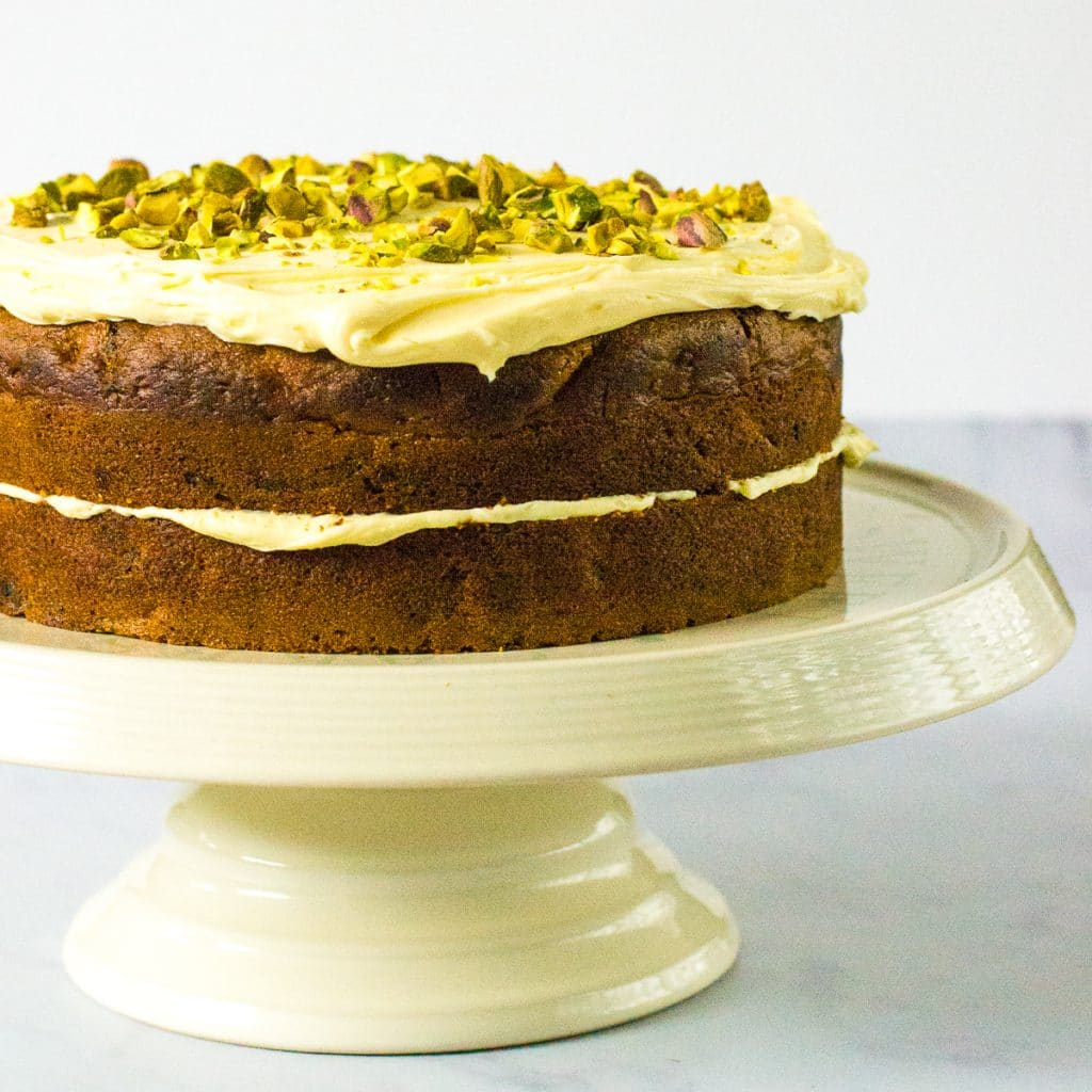Recipe Easy Vegan Carrot Cake The Veg Space