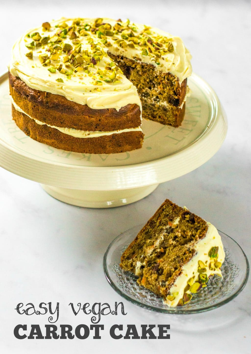 Easy Vegan Carrot Cake