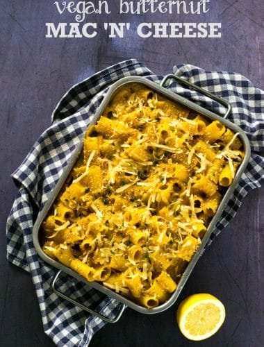 Recipe: Vegan Butternut Squash Mac and Cheese