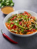 Recipe: Spicy Thai Salad with Peanut Dressing