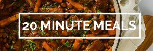 20 Minute Vegan Meals | www.TheVegSpace.co.uk