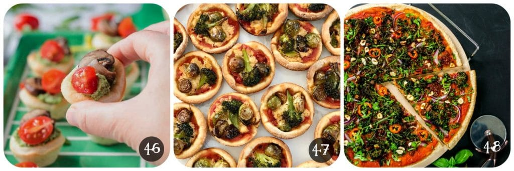 Vegan Canapes & Party Food - Pizza | www.thevegspace.co.uk