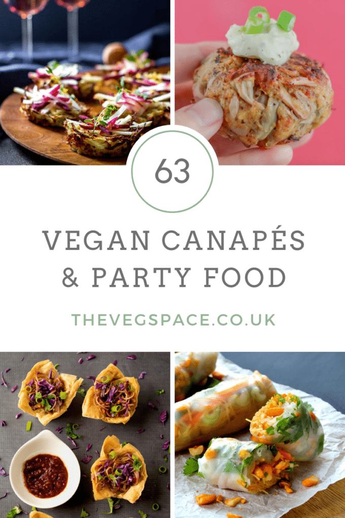 Vegan Canapés and Vegan Party Food