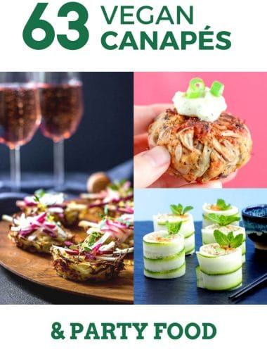Vegetarian Vegan Canapés Nibbles The Veg Space