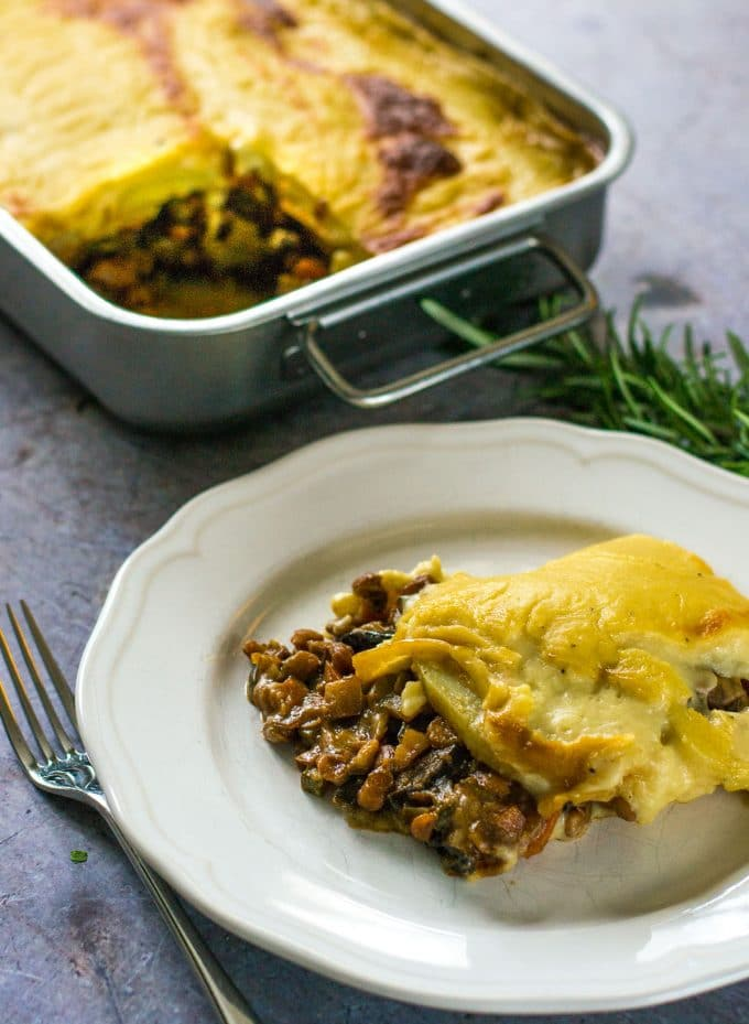 The Ultimate Vegan Moussaka The Veg Space Easy Vegan Recipes
