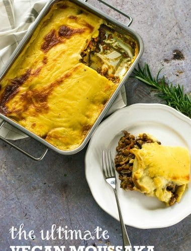Recipe: The Ultimate Vegan Moussaka