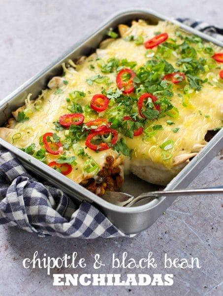 Recipe: Easy Vegan Enchiladas