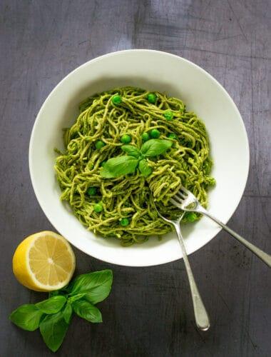 Green Pasta Sauce
