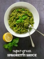Recipe: Super-Greens Vegan Spaghetti Sauce