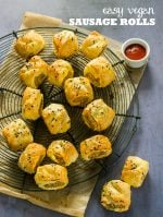 Recipe: Easy Vegan Sausage Rolls