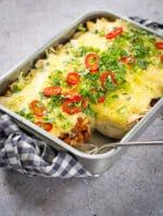 Recipe: Easy Vegan Enchiladas with black beans & chipotle