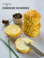 Recipe: Vegan Cheese Scones