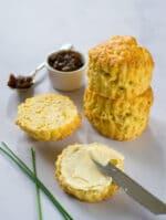 Recipe: Vegan Cheese Scones