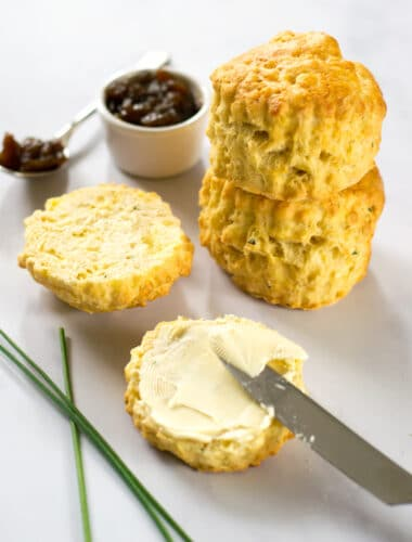 Vegan Cheese Scones