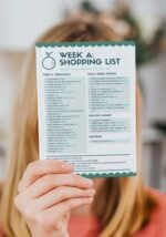 Four Week Vegan Meal Plan and Shopping Lists
