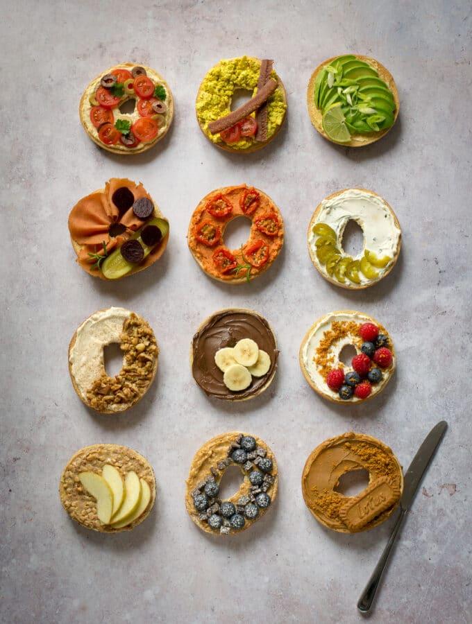 Vegan Bagel Ideas
