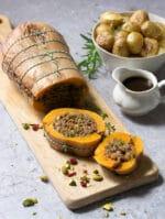 Recipe: Festive Butternut Roast – vegan & vegetarian Christmas dinner