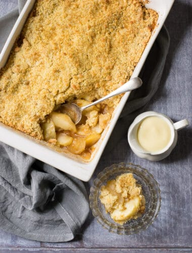 Vegan Apple Crumble