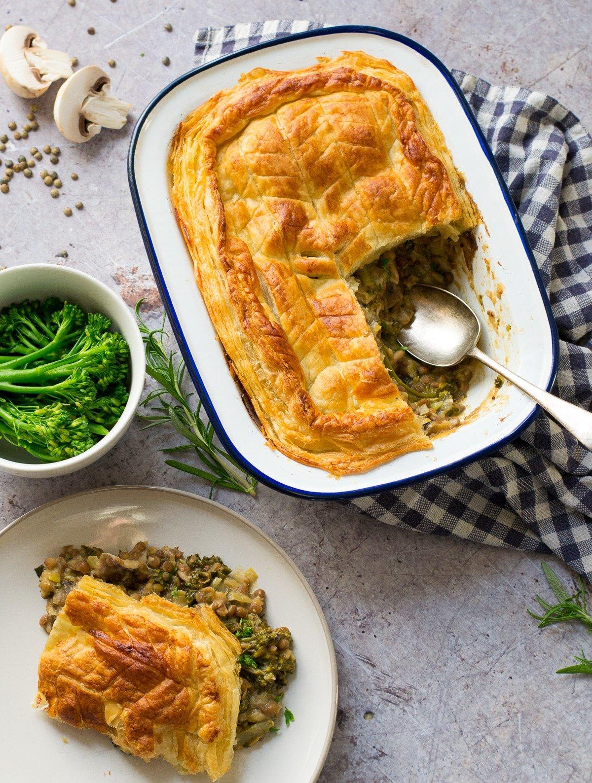 Vegan Puff Pastry Pie