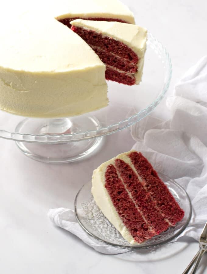 Dairy Free Red Velvet Cake