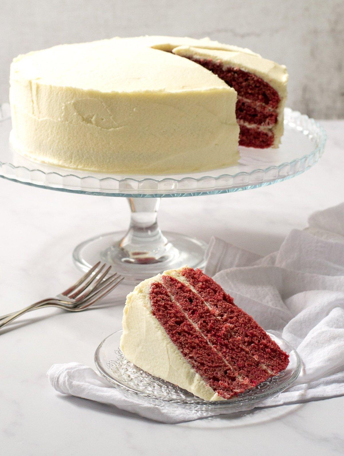 Vegan Red Velvet Cake The Veg Space Vegan Recipes