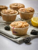 Recipe: Vegan Blackberry Muffins