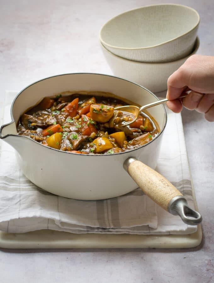 Vegan Slow Cooker Stew