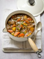 Recipe: Vegan Stew with ale & pearl barley