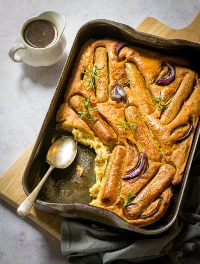 Dairy Free toad in the hole