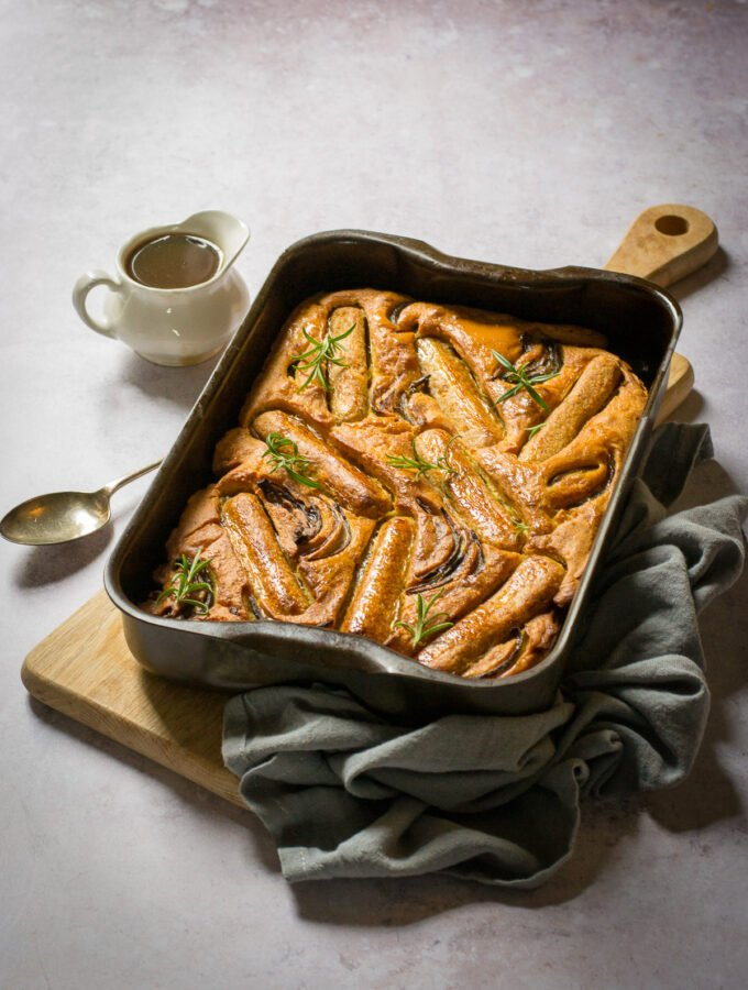 Egg Free toad in the hole