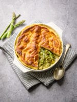 Recipe: Vegetable Pie with asparagus and Tenderstem broccoli