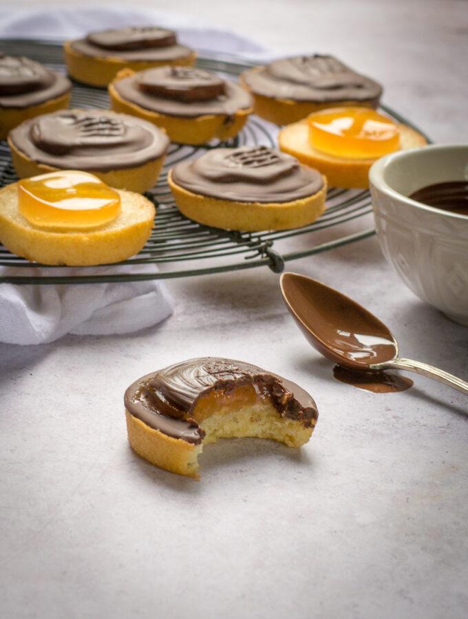 Homemade Vegan Jaffa Cakes