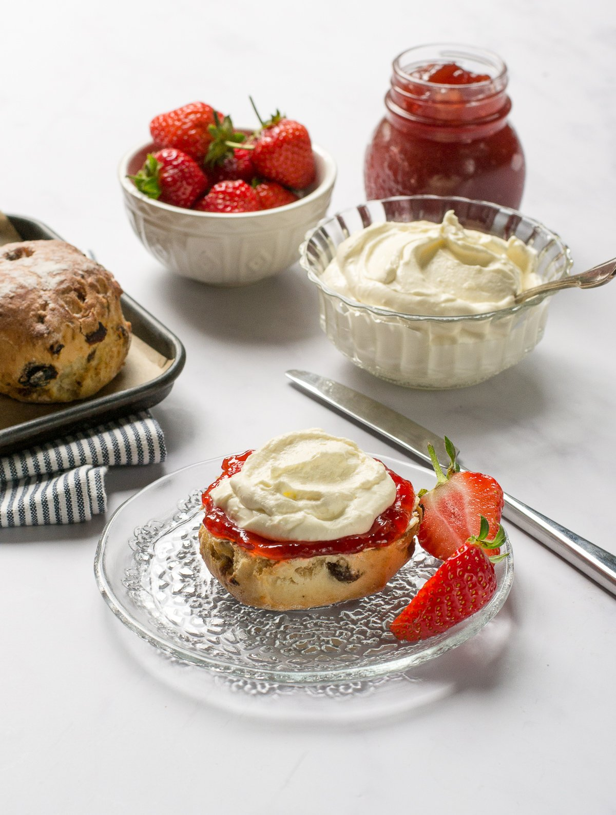 dairy-free clotted cream