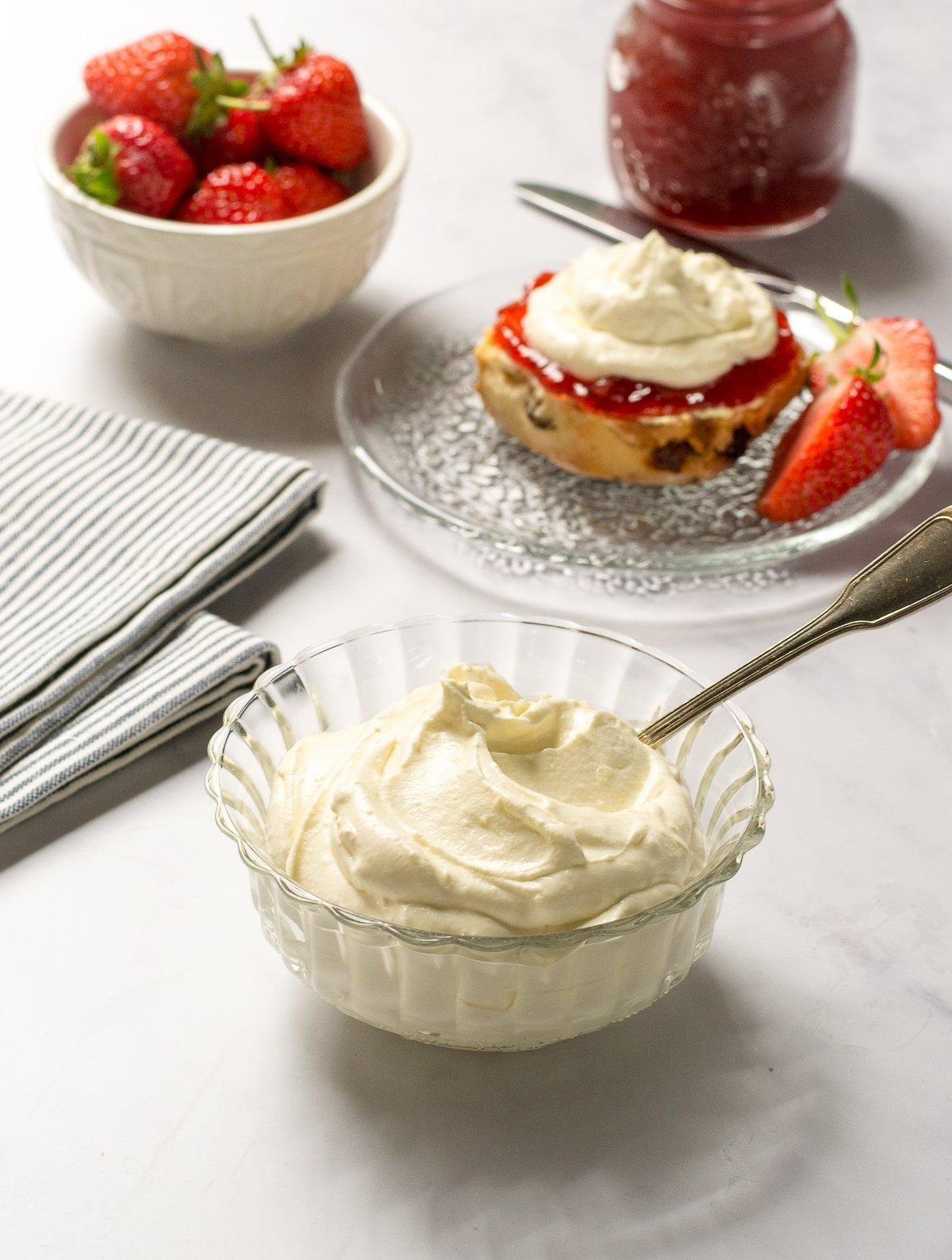 vegan clotted cream